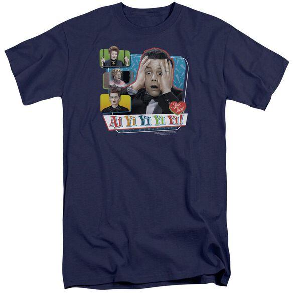 I Love Lucy Ai Yi Yi Yi Yi Short Sleeve Adult Tall T-Shirt
