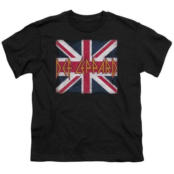 Def Leppard Union Jack Short Sleeve Youth T-Shirt