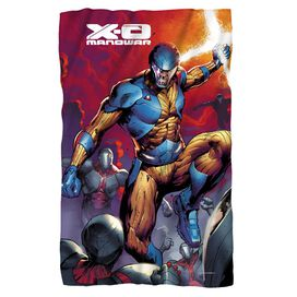 Xo Manowar Sword Of Light Fleece Blanket