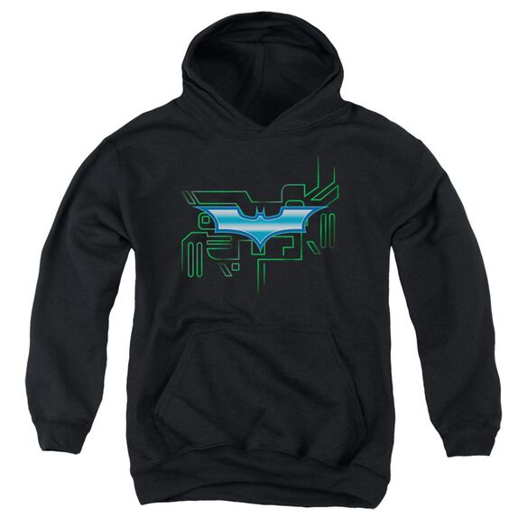 Dark Knight Tech Shield Youth Pull Over Hoodie