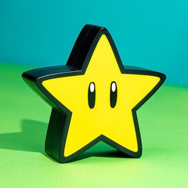 Super Mario Super Star Light with Sound Lamp