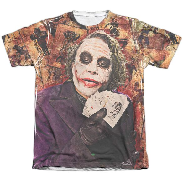 Dark Knight Jokers Wild Adult Poly Cotton Short Sleeve Tee T-Shirt