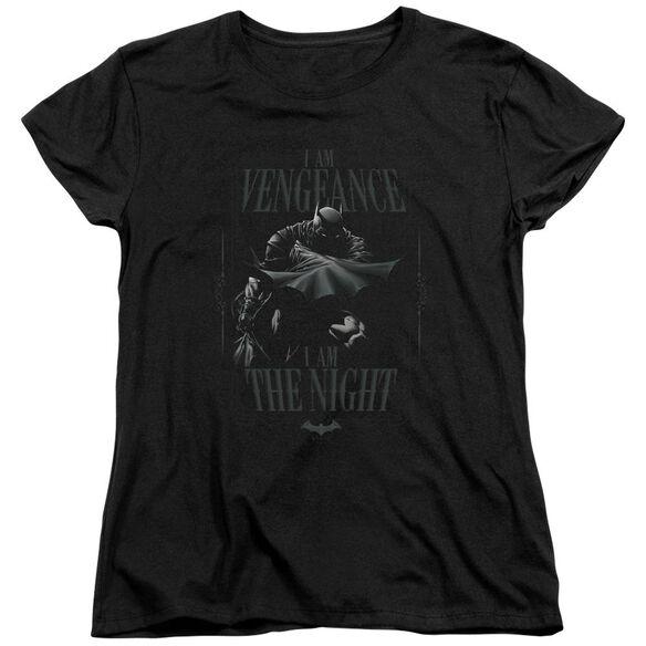 Batman I Am Short Sleeve Womens Tee T-Shirt