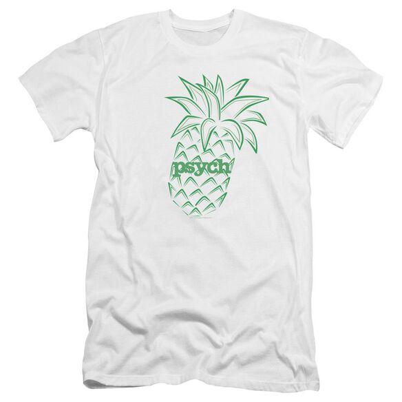 Psych Pineapple Premuim Canvas Adult Slim Fit