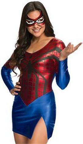 Spidergirl Shiny Dress Costume