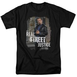 Law And Order Svu Street Justice Short Sleeve Adult T-Shirt