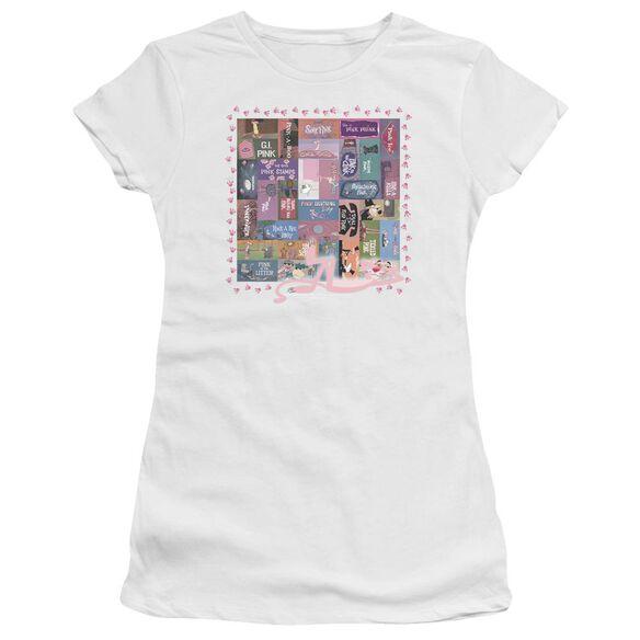 Pink Panther Vintage Titles Premium Bella Junior Sheer Jersey