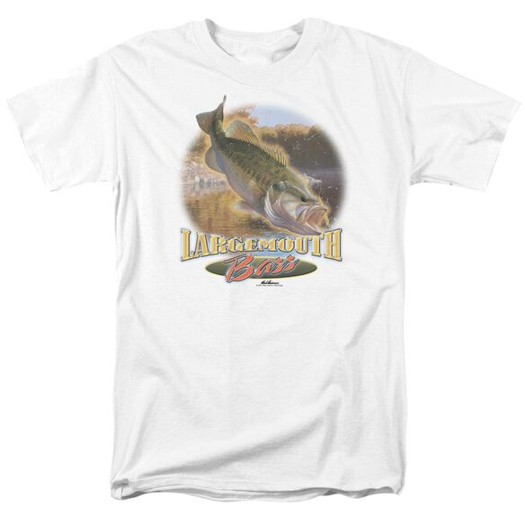 Wildlife Cartwheeling Short Sleeve Adult White T-Shirt