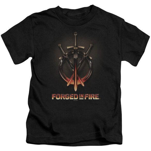 Forged In Fire Swords Short Sleeve Juvenile T-Shirt