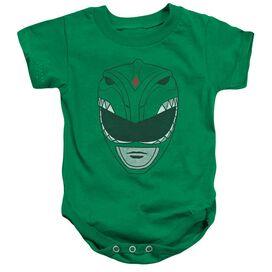 Power Rangers Green Ranger Infant Snapsuit Kelly Green