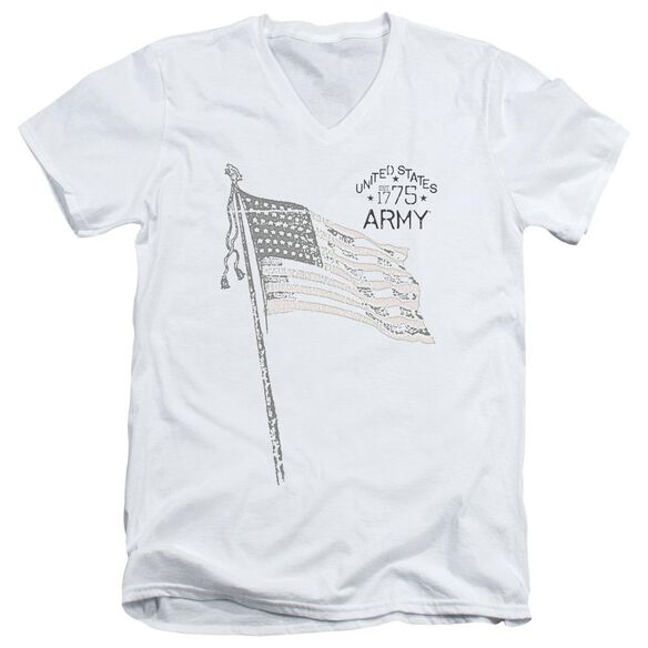 Army Tristar Short Sleeve Adult V Neck T-Shirt