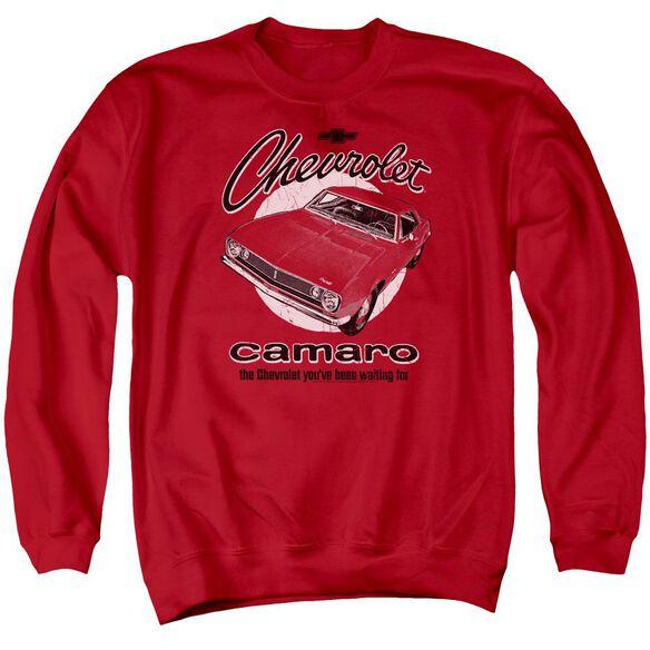 Chevrolet Retro Camaro Adult Crewneck Sweatshirt