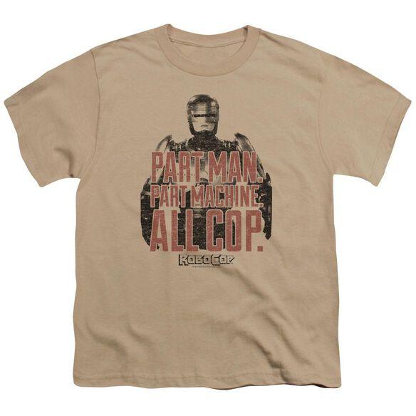 Robocop Vintage Tagline Short Sleeve Youth T-Shirt