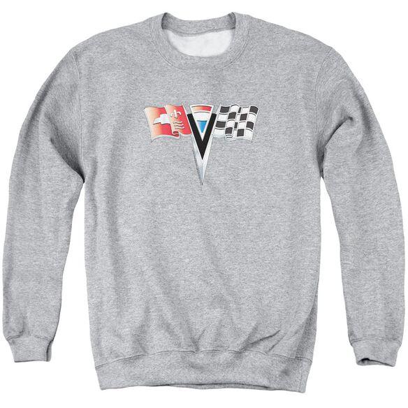Chevrolet 2 Nd Gen Vette Nose Emblem Adult Crewneck Sweatshirt Athletic