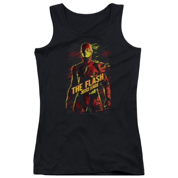 Justice League Movie The Flash Juniors Tank Top