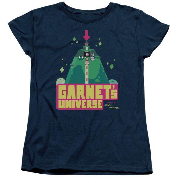 Steven Universe Garnets Universe Short Sleeve Womens Tee T-Shirt