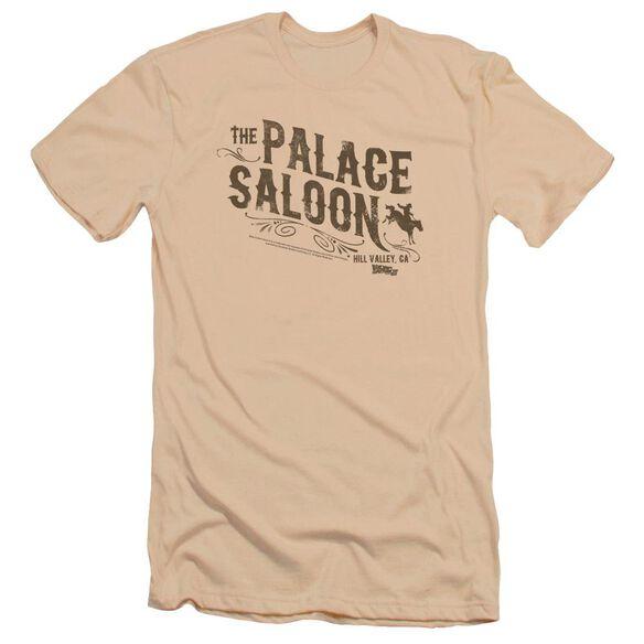 Back To The Future Iii Palace Saloon Premuim Canvas Adult Slim Fit