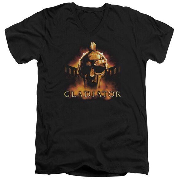 Gladiator My Name Is Short Sleeve Adult V Neck T-Shirt
