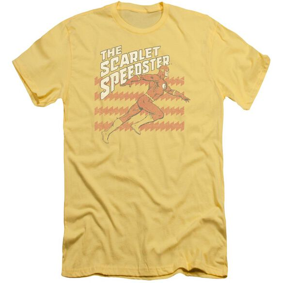 Dc Flash Scarlet Speedster Short Sleeve Adult T-Shirt