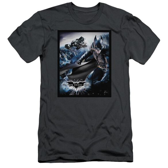 Dark Knight Rises Batwing Rises Short Sleeve Adult T-Shirt
