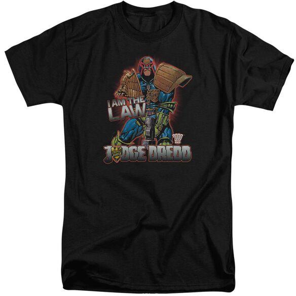 Judge Dredd Law Short Sleeve Adult Tall T-Shirt