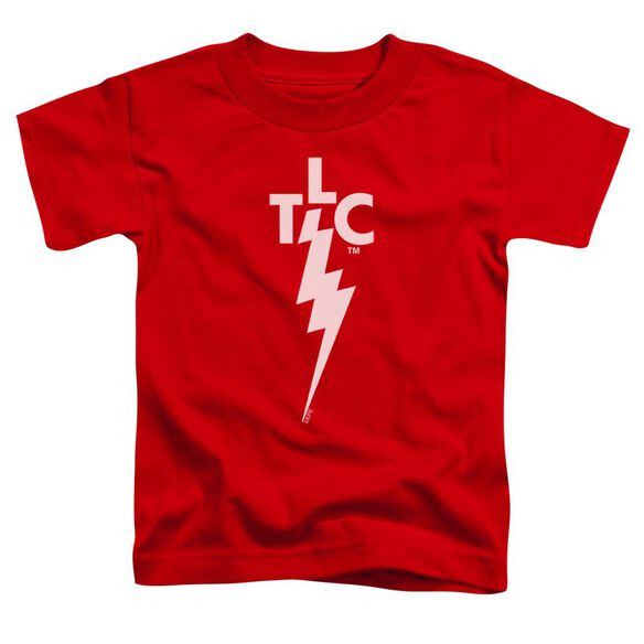 Elvis Tlc Logo Short Sleeve Toddler Tee Red Sm T-Shirt