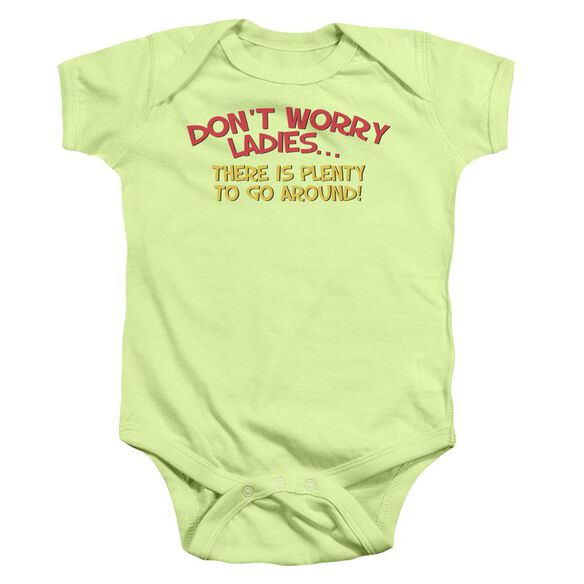 Don't Worry Infant Snapsuit Soft Green Lg