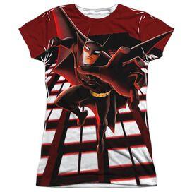 Beware The Batman City Protector Short Sleeve Junior Poly Crew T-Shirt