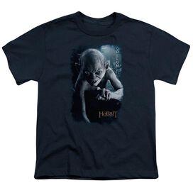 The Hobbit Gollum Poster Short Sleeve Youth T-Shirt