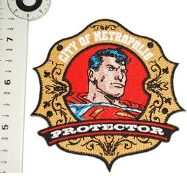Superman Protector Badge Patch