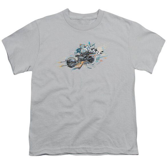 Dark Knight Rises Dark Rider Short Sleeve Youth T-Shirt