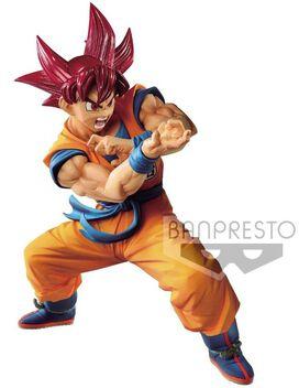 Dragon Ball Super - Blood of Saiyans Super Siayan God Goku Collectible PVC Figure Vol.6 [Special Version]
