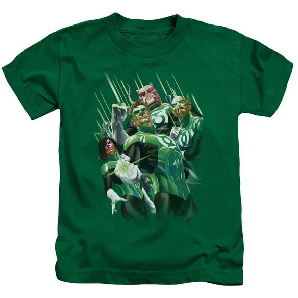 Gl Power Of The Rings Short Sleeve Juvenile Kelly Green T-Shirt