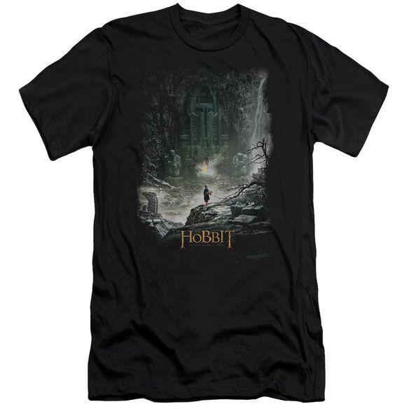 Hobbit At Smaug's Door Short Sleeve Adult T-Shirt
