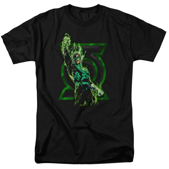 Green Lantern Fully Charged Short Sleeve Adult T-Shirt