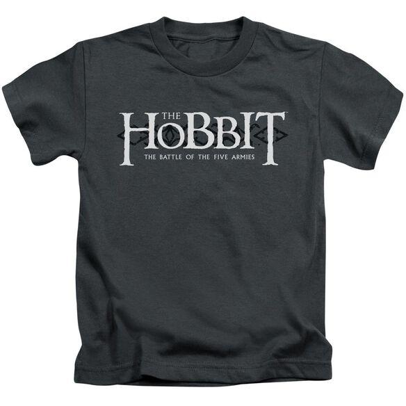 Hobbit Ornate Logo Short Sleeve Juvenile T-Shirt