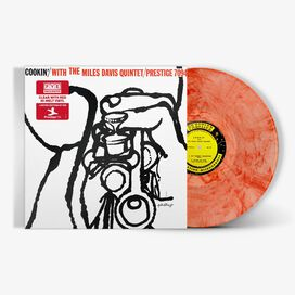 Miles Davis - Miles Davis Quintet- Cookin' With Miles Davis [Exclusive Clear with Red Hi-Melt Vinyl]