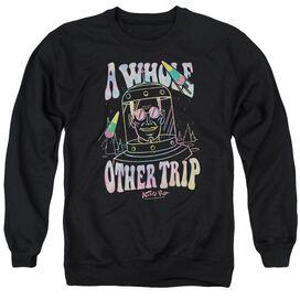 Astro Pop Space Popssdey Adult Crewneck Sweatshirt