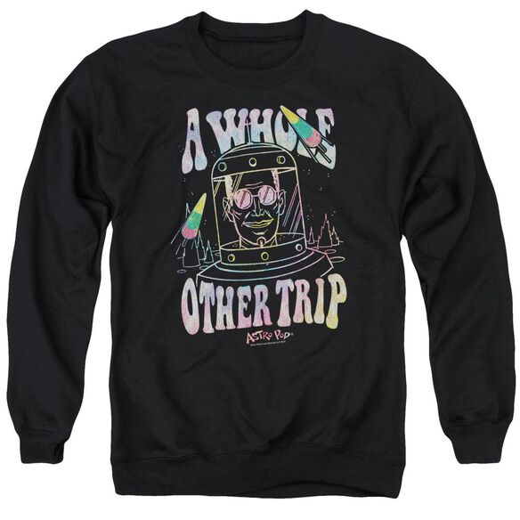 Astro Pop Space Popssdey Adult Crewneck Sweatshirt