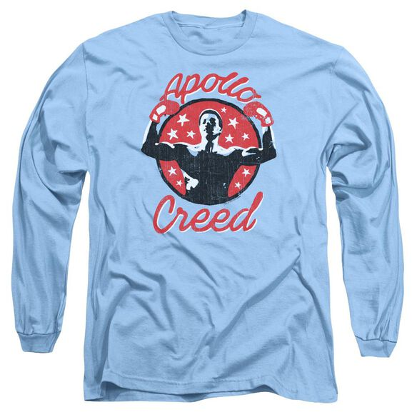 Rocky Apollo Star Long Sleeve Adult Carolina T-Shirt