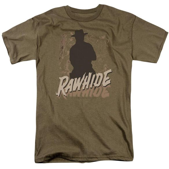 Rawhide Short Sleeve Adult Safari Green T-Shirt