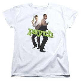 Psych Hands Up Short Sleeve Womens Tee T-Shirt