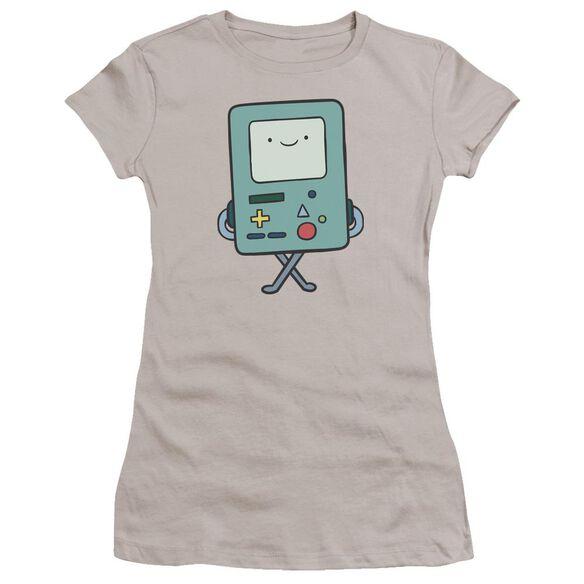 Adventure Time Bmo Hbo Short Sleeve Junior Sheer T-Shirt