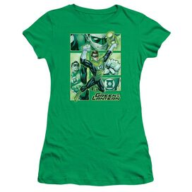 Jla Lantern Panels Short Sleeve Junior Sheer Kelly T-Shirt