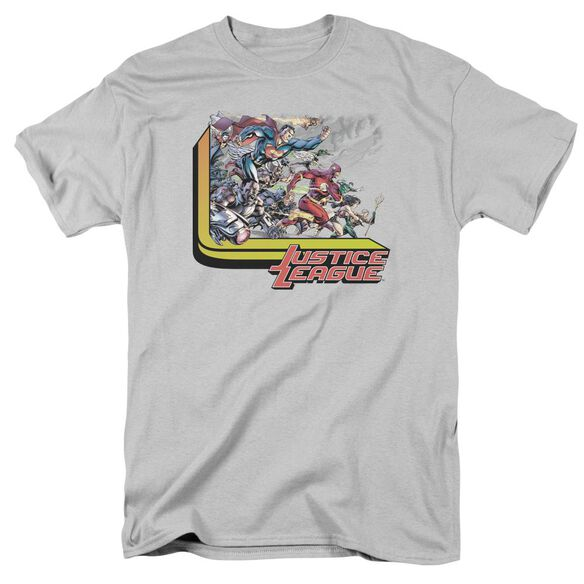 Jla Ready To Fight Short Sleeve Adult T-Shirt