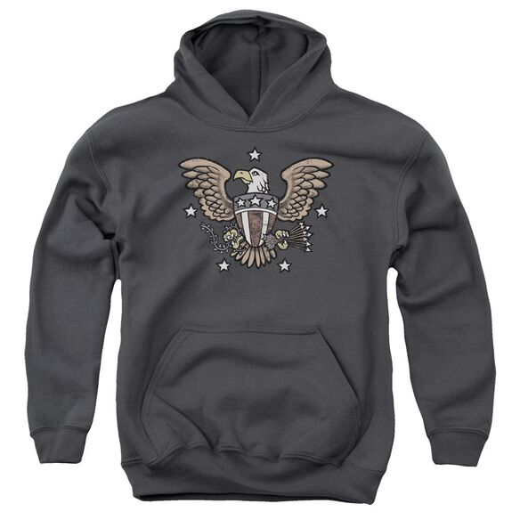 American Eagle Youth Pull Over Hoodie