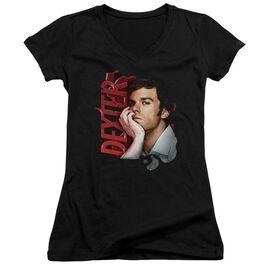 Dexter Layered Junior V Neck T-Shirt