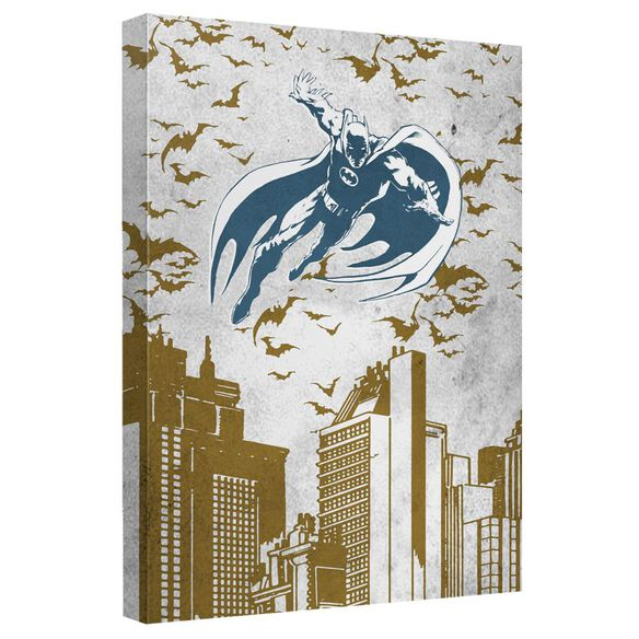 Batman City Vibe Quickpro Artwrap With Back Board