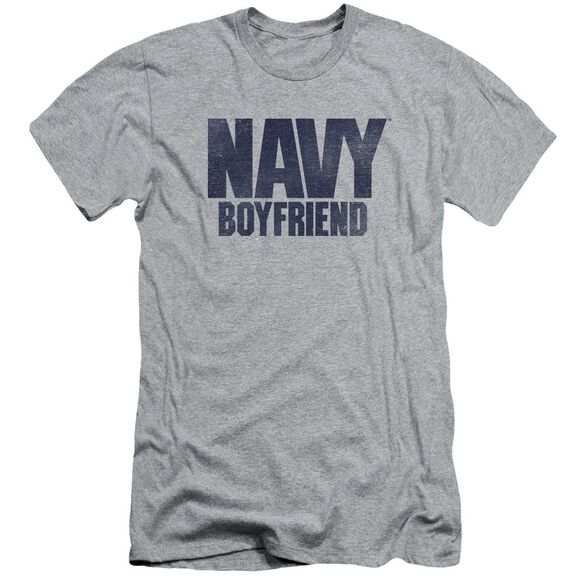 Navy Boyfriend Short Sleeve Adult Athletic T-Shirt