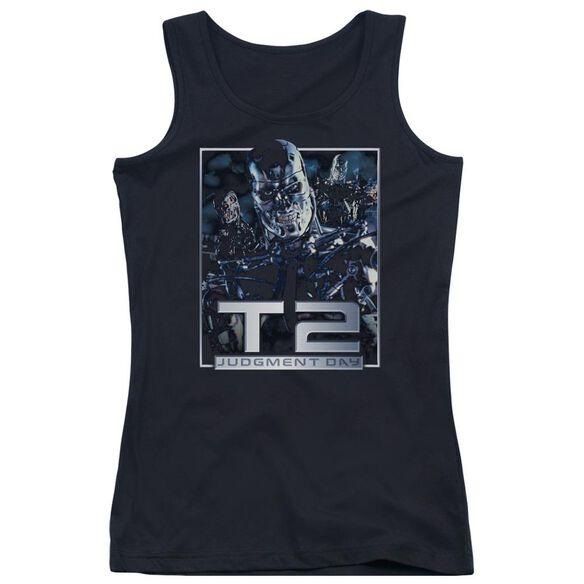 Terminator T2 Robots Juniors Tank Top
